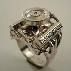 Small Block Chevy Ring for the redneck wedding ...