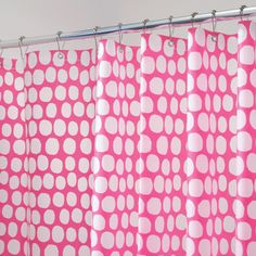 Love the polka dots! #DreamDormOCM  @Jillian Jarboe, Can this be in our Pink Gittery Polka Dot Room???? It fits us for sure  :)
