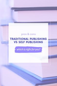 Traditional publishing vs self publishing: find out which one is right for you! #publishing #writing #writer #selfpublishing #amwriting #writerscommunity #writingtips #writingadvice #getpublished Writing Advice, Self Publishing, Writer, Novels, The Creator, Marketing, Traditional, Books, Libros