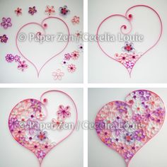 Quilling Flower Pattern Update