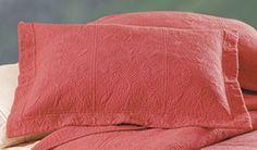 Blush Matelasse Standard Pillow Sham