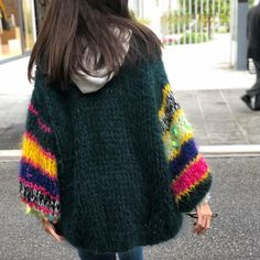 Knitwear Fashion, Sweater Fashion, Mohair Sweater, Knit Cardigan, Diys, Turtle Neck, Knitting, Crochet, Sweaters