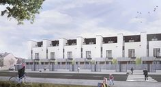 50 residence development in Valdemoro - Alberich-Rodriguez Arquitectos