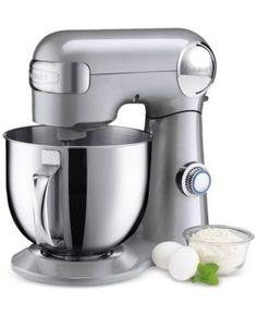 Cuisinart Sm-50 5.5-Qt. Stand Mixer - Silver