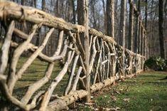 12 Unutterable Natural Garden Fencing Ideas 10 Good ideas: Painted Split Rail F. 12 Unutterable Na Log Fence, Vine Fence, Deer Fence, Rustic Fence, Front Yard Fence, Pallet Fence, Metal Fence, Wattle Fence, Glass Fence