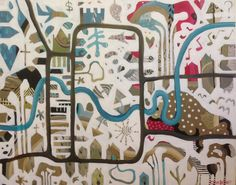 Artist: Olivia Denahy My Arts, Kids Rugs, Artist, Home Decor, Decoration Home, Kid Friendly Rugs, Room Decor, Artists, Home Interior Design