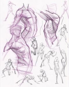 Analytical Figure Drawing - CGMA 2D Academy via PinCG.com