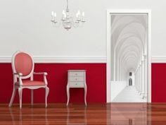 Dörrtapet White corridor