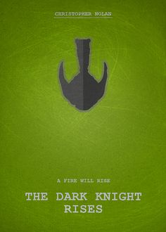 The Dark Knight Rises [Christopher Nolan, 2012] «Movie Poster Author: Abdelilah Driouch»