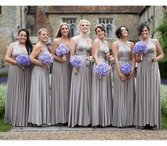 Infinity Wrap Dresses, Infinity Dress Bridesmaid, Silver Bridesmaid Dresses, Bridesmaid Dresses Online, Silver Dress, Bridesmaids, Multi Way Dress, Convertible Dress, Wedding Party Dresses