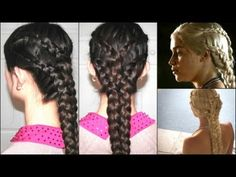"Braid your hair like your favorite Khaleesi. | How To Throw A Gorgeous And Geeky ""Game Of Thrones"" Wedding"