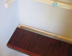 Remodelando la Casa: How to build floating shelves