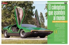68 Carabo Alfa Romeo Cars, Collector Cars, Exotic Cars, Classic Cars, Vehicles, Golden Age, Advertising, Concept, Lifestyle
