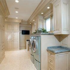Nice fancy laundry room
