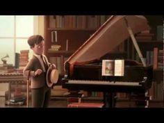 Los libros fantásticos que vuelan del Mr. Morris Lessmore el corto animado ganador del Oscar 2012