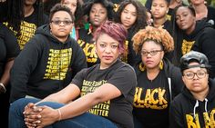 DO NOT tell me #alllivesmatter because If you do I'm going o call you a racist because that is what you are...if you don't understand why I say that then educate yourself as to why it's #blacklivesmatter...Alicia Garza, one of the founders of the #BlackLivesMatter movement, and fellow activists.