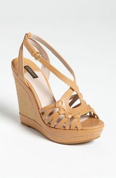 Joan & David 'Dreena' Sandal   Nordstrom - bought these in Chicago and I love them! Comfy!