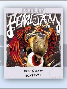 Pearl Jam - DCU Center - 15/10/2013