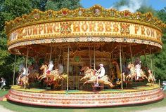 Steam Gallopers built by Savages of Kings Lynne UK - the carousel I first rode... what started it all!