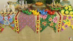Birthday Table, Farm Birthday, Birthday Parties, Tropical Party, Party Entertainment, Little Princess, Different Styles, Quilling, Gingerbread