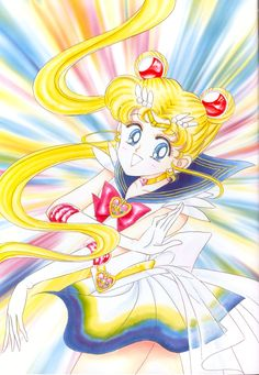 美少女戦士セーラームーン原画集 Bishoujo Senshi Sailor Moon Original Picture Collection Vol.3 - by Naoko Takeuchi - Front cover of the September 1994 Nakayoshi
