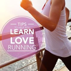 Spring is in the air and outdoor workouts are the best. Here are Tips to Help You Learn to Love Running!! #beginningrunner
