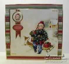 Hunkydory Crafts Santa Paws - DT cards I made Christmas Time, Christmas Cards, Xmas, Card Making Inspiration, Christmas Inspiration, Hunkydory Crafts, Handmade Cards, Stampin Up, Santa