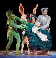 Alice's Adventures in Wonderland<br /> ballet created by Christopher Wheeldon<br /> based on the book by Lewis Carroll.<br /> <br /> The Royal Ballet at The Royal Opera House, Covent Garden, London, Great Britain <br /> pre-general rehearsal <br /> 25th February 2011<br /> <br /> PRESS NIGHT CAST <br /> <br /> Sergei Polunin (as Jack/The knave of Hearts)<br /> <br /> Lauren Cuthbertson (as Alice)<br /> <br /> Kristen McNally (as Cook)<br /> <br /> Edward Watson (as Lewis Carroll / The White…