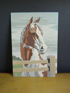paint by number. This one is already sold, but I want to find a place that sells these kits!