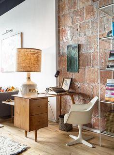 Un piso de decoración exuberante y ecléctica · An eclectic and exuberant apartment in Brooklyn