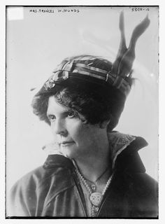 Frances W Munds, first woman to serve in the Arizona Legislature, and second woman elected to a state legislature nationwide (elected in 1915)