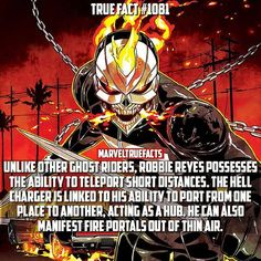 What did you guys think of Ghost Rider in the AOS season 4 premier? Marvel Vs, Marvel Dc Comics, Marvel Heroes, Captain Marvel, Comic Book Characters, Comic Character, Comic Books Art, Superhero Facts, Ghost Rider Marvel