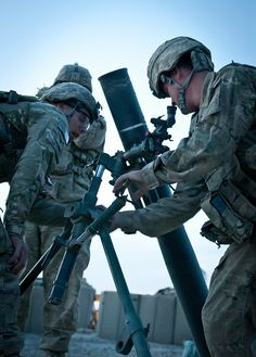 Gun Up by The U.S. Army, via Flickr