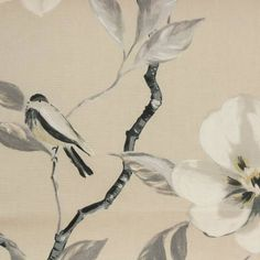 Prestigious Textiles Imperial Fabrics Chinoise Fabric - Parchment - 5983/022