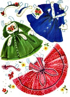 Candy and Her Cousins or Lindy Lou and Cindy and Sue Paper Dolls, I remember these so well, loved them. 60s