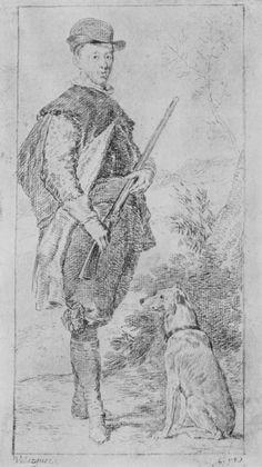Goya y Lucientes, Francisco de: dibujos de Velázquez: Retrato del Infante Don Fernando