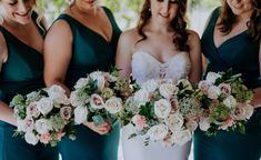 White Roses with touches of pink and greenrey, wedding bouquets from Nicola and Matt's Enzo's wedding Hunter Valley, were created by Willa Floral Design and captured by Ava Me Photogrpahy. #weddingbouquets #weddingideas2022 #huntervalleyweddings #whiterose #weddingflowers Floral Wedding, Wedding Bouquets, Wedding Flowers, Hunter Valley Wedding, White Roses, Wedding Couples, Ava, Floral Design, Wedding Planning