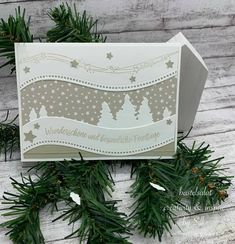 Stamped Christmas Cards, Stampin Up Christmas, Christmas Cards To Make, Christmas Tag, Xmas Cards, Holiday Cards, Christmas Crafts, Greeting Cards, Christmas Family Feud
