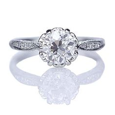 Relica Edwardian Engagement ring - 3237-15