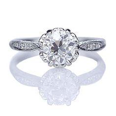 Relica Edwardian Engagement ring - 3237-15