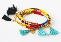 Bijoux Bracelet d'amitié Bracelet en perles avec par feltlikepaper