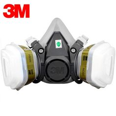 106.11$  Watch here - http://alirq2.worldwells.pw/go.php?t=32656201559 - 3M 6300+6006 Respirator Half Face Mask Renovated Laboratory Formaldehyde Gas Masks Protective Masks 7 Items for 1 Set R82027 106.11$