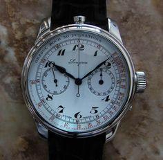 Longines Doctor's Chronograph custom piece | Aria Timepiece