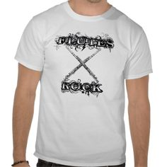 Flutes Rock Music / Marching Band T-Shirts