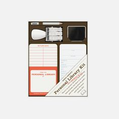 KNOCK KNOCK®  - Personal Library Kit