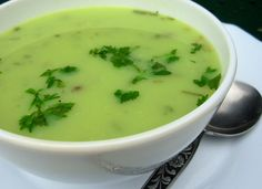 Old Fashioned Lovage and Potato Soup
