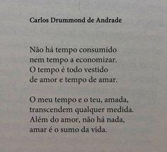 Carlos Drummond de Andrade. ♥