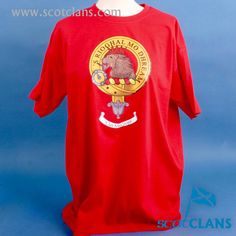 MacGregor Clan Crest T Shirt. Free worldwide shipping available