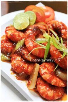Udang Saus Mentega Enak Kilat ^^ Asian Recipes, Healthy Recipes, Ethnic Recipes, Seafood Recipes, Cooking Recipes, Malay Food, Indonesian Cuisine, Indonesian Recipes, Chicken Wing Recipes
