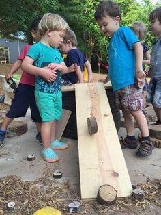 Outdoor Classroom Provocations & Beautiful Materials